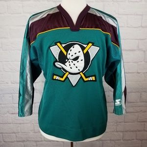 1990's Original NHL Anaheim Mighty Ducks Jersey